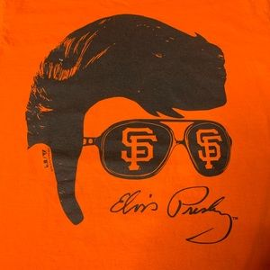 San Francisco Giants Elvis Presley Shirt